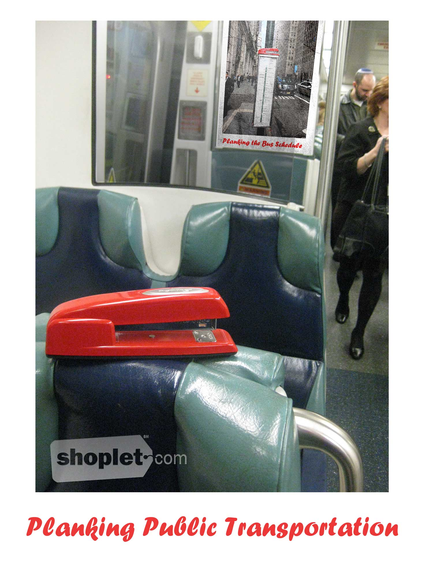 Shoplet Planking Stapler Train Shoplet Planking Stapler Planks on the Train