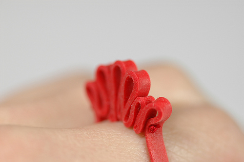 colleen baran rubber band ring Rubber Band Rings by Colleen Baran