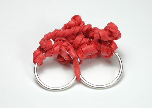 colleen baran rubber band rings Rubber Band Rings by Colleen Baran