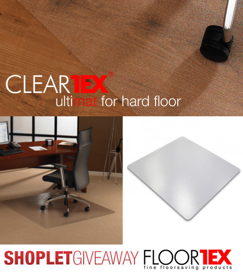 floortex shoplet chair mat giveaway Win a Chair Mat from Floortex!