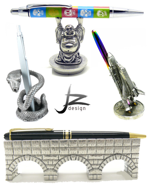 jac zagoory pen holders Fancy Pen Holders