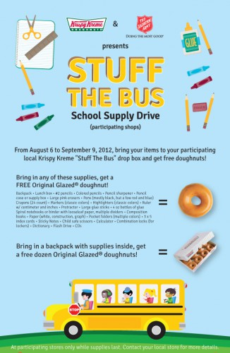 krispy kreme donate school supplies 326x500 Best of Office Weekend Roundup 114