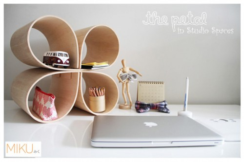 petal shelf desk organizer 500x333 Best of Office Weekend Roundup 116