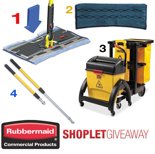 rubbermaid commercial products giveaway Win a Cleaning System from Rubbermaid!