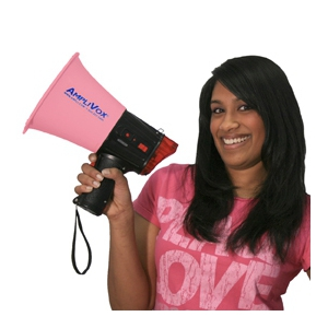 amplivox pink megaphone Best of Office Weekend Roundup 119