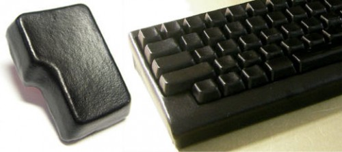 black leather keyboard 500x223 Best of Office Weekend Roundup 119