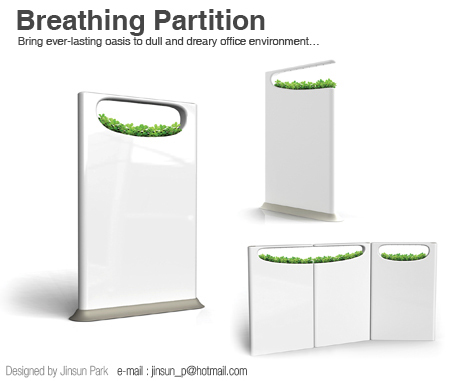 breathing partition1 Best of Office Weekend Roundup 121