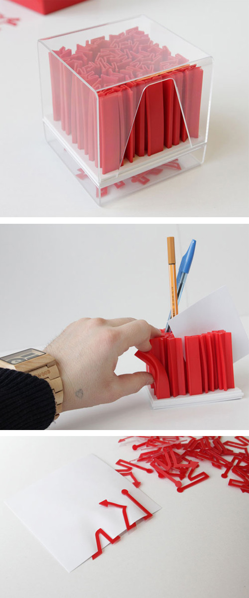 cubix office set alexander zhukovksi A Chaotic Pencil Holder