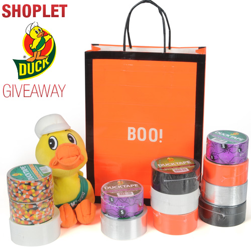 duck tape halloween giveaway Duck Tape Stick or Treat Giveaway!