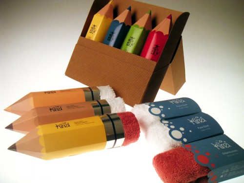 pencil towel packaging 500x375 Best of Office Weekend Roundup 118