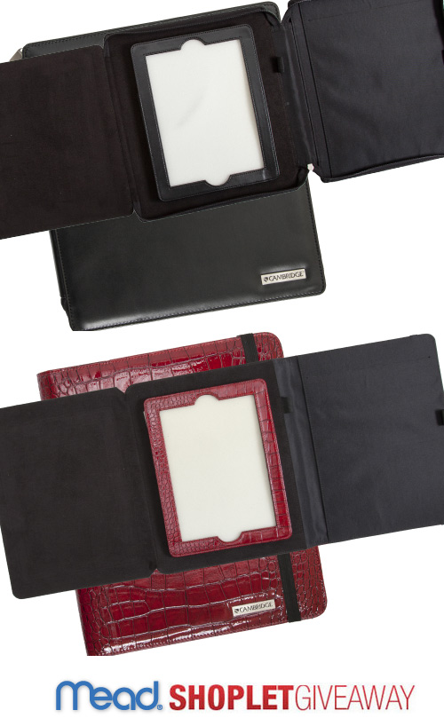 shoplet mead ipad case giveaway1 Mead iPad Case Giveaway!