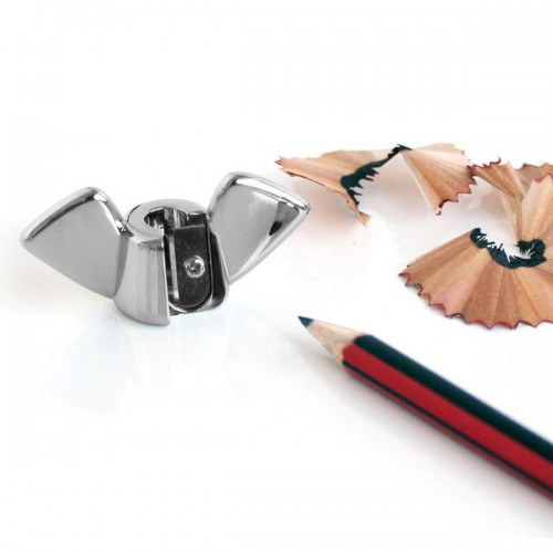 wingnut pencil sharpener 500x500 Best of Office Weekend Roundup 121