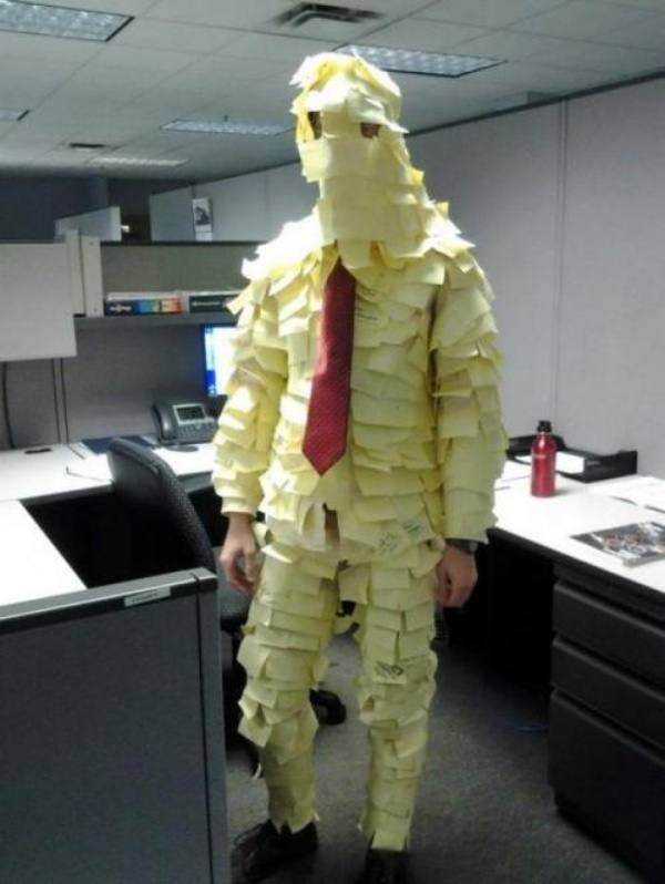 Post-It-note-man