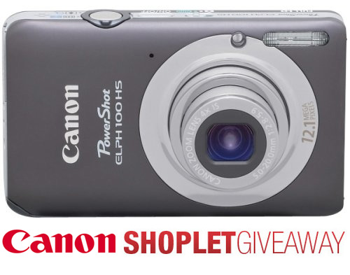 canon power shot shoplet giveaway Win a Canon PowerShot Digital Camera!