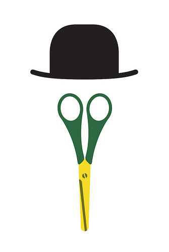 duck scissors with a bowler Best of Office Weekend Roundup 123