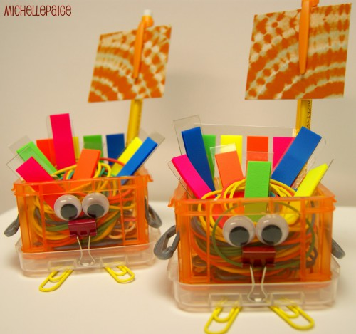 office supplies turkey michelle paige 500x469 Make a Turkey with Office Supplies