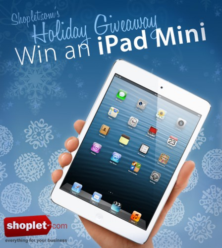 blog ipad mini 448x500 Last week to Enter!   iPad mini Giveaway   Thanks to our Readers!