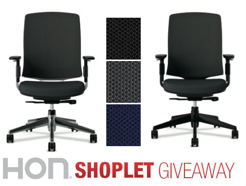hon shoplet giveaway Two HON Lota Chairs to Win!