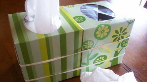 kleenex disposal 500x281 Best of Office Weekend Roundup 127