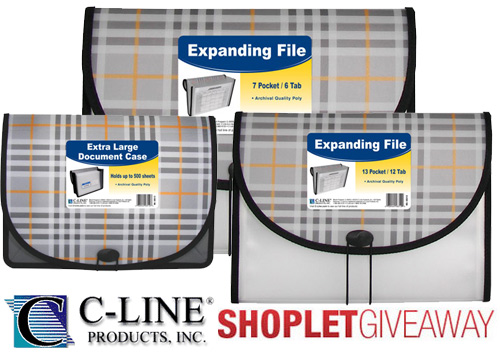 c line plaid pocket giveaway Win Plaid Organization Accessories from C Line!