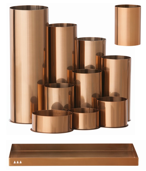 ferm copper desk accessories Ferm Living Copper Desk Accessories