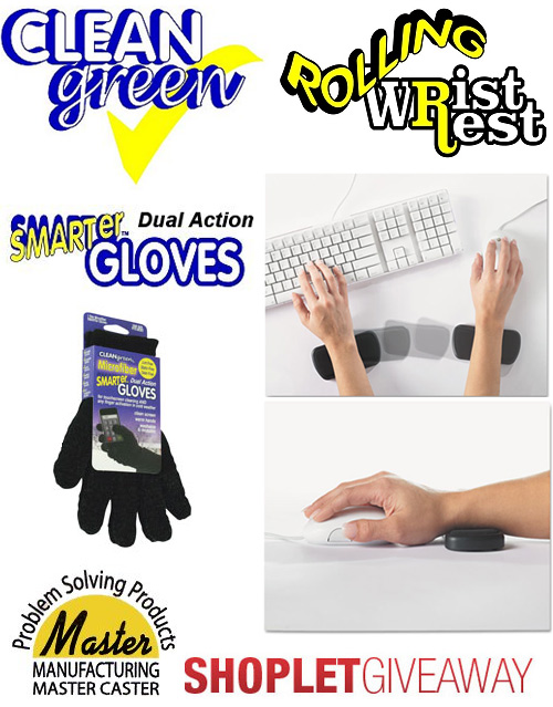 master smart gloves rolling wrist rest giveaway Win A Rolling Wrist Rest and Smart Gloves from Master Mfg!