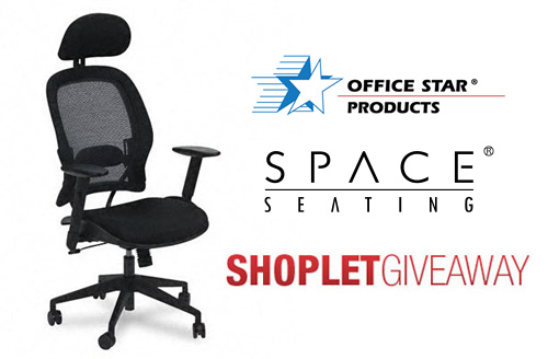 office star space air grid office chair Win a Desk Chair from Office Star!