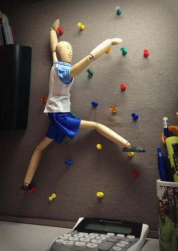 rock climbing thumb tacks Best of Office Weekend Roundup 131