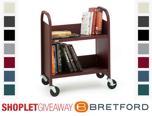 bretford book cart giveaway Win a Duro Book Truck from Bretford!