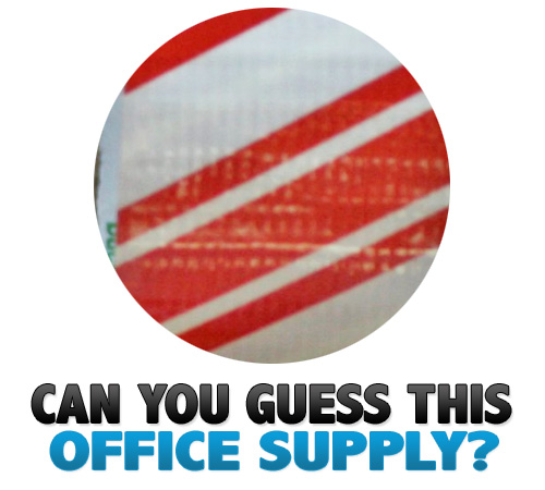 can you guess 13 Can You Guess This Office Supply? V.13