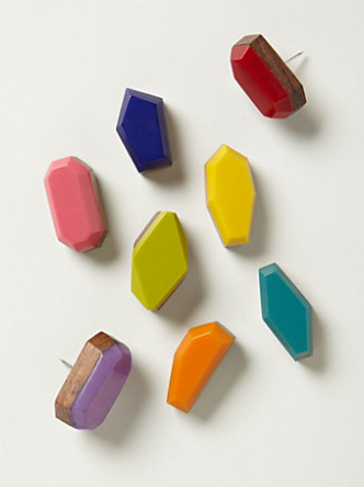 faceted pushpins Best of Office Weekend Roundup 138