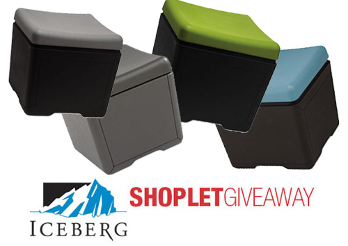iceberg file ottoman giveaway Five File Ottomans to Win from Iceberg!