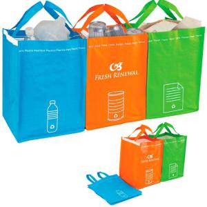 recycling bin tote set Best of Office Weekend Roundup 138