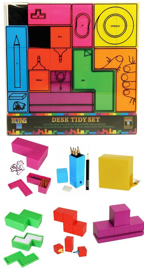 tetris-desk-set