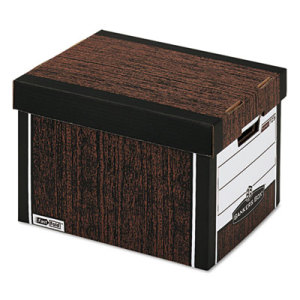 woodgrain bankers box Best of Office Weekend Roundup 135