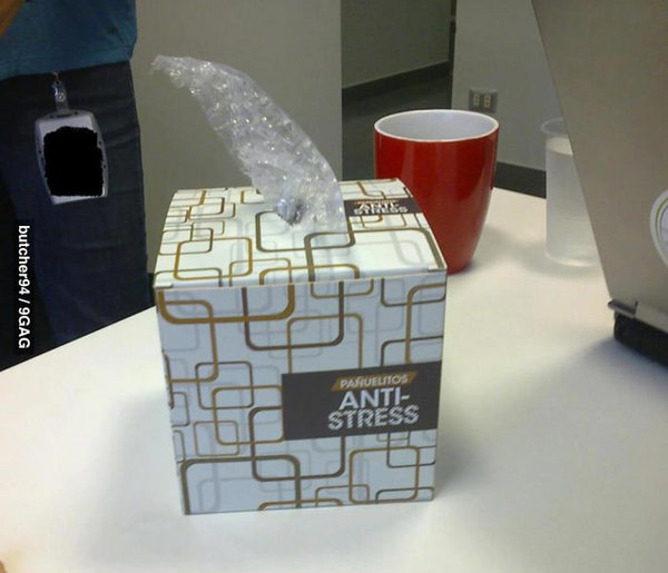 anti stress bubble wrap box Best of Office Weekend Roundup 139
