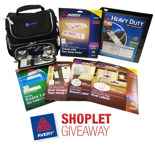 avery lunch cooler tote giveaway Win a Lunch Cooler Full of Avery Products!