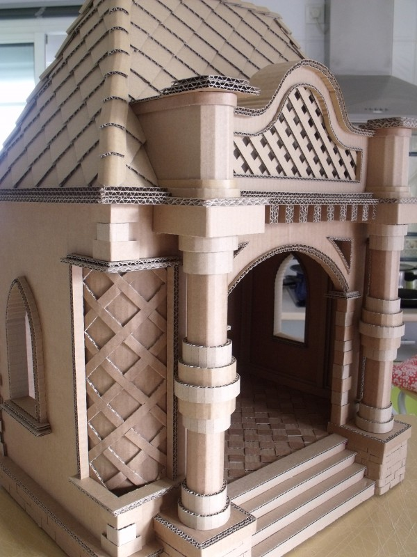 castillo cardboard house Best of Office Weekend Roundup 141