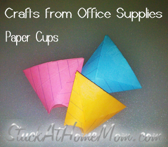 cups from index cards Best of Office Weekend Roundup 140