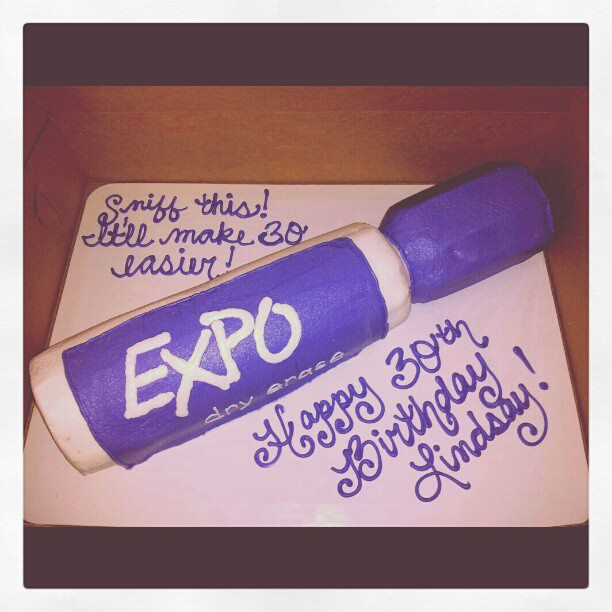 expo marker cake Cakes for Your Office Party