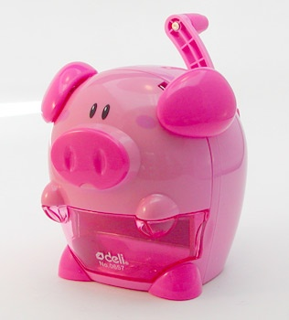 my piggy pencil sharpener My Piggy Stationery