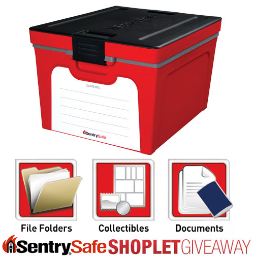 sentry safe guardian storage box Win a Sentry Safe Guardian Storage Box!