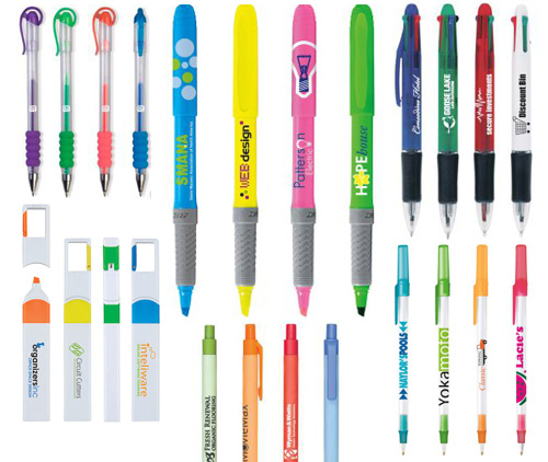 shopletpromos customizable pens Lots of Pens and Highlighters to Customize!