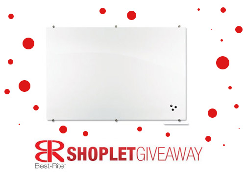 best rite magentic glass board giveaway Win a Best Rite Magnetic Glass Board!