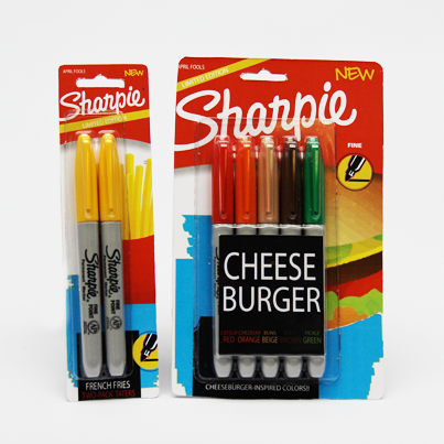 cheeseburger fries sharpie markers Best of Office Weekend Roundup 143