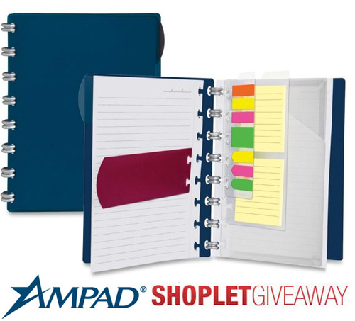 ampad crossover notebook giveaway Win an Ampad Versa Crossover Notebook!