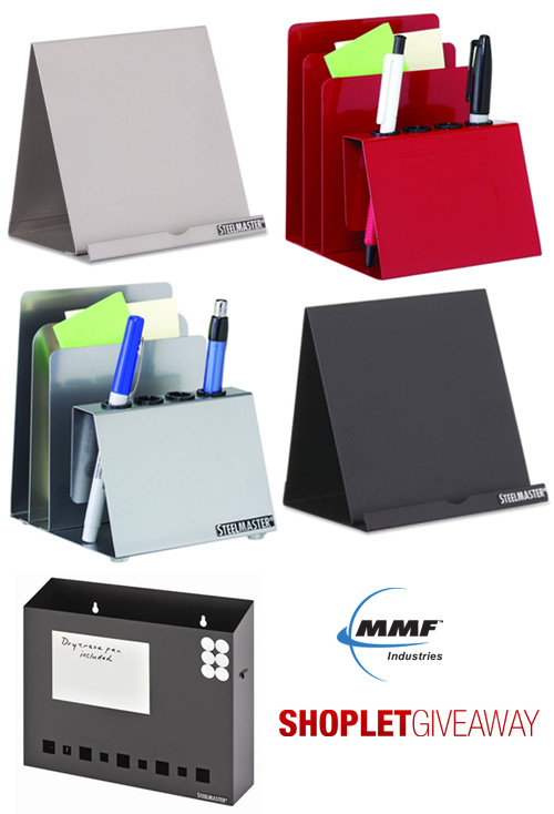 mmf shoplet giveaway Win MMF Desk Accessories for You and a Friend!