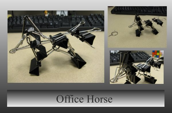 Office_Horse_by_felinahime