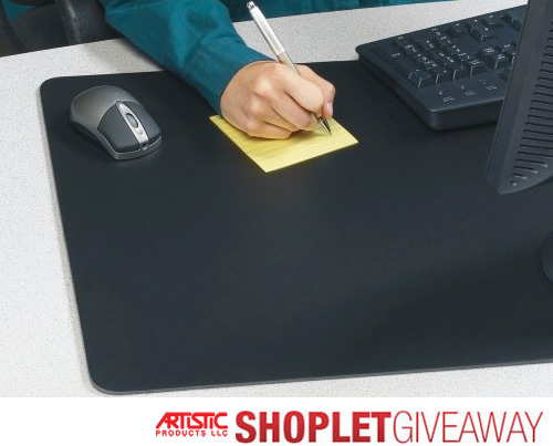 artistic rhinolin desk pad giveaway Win A Rhinolin Desk Pad from Artistic Products!