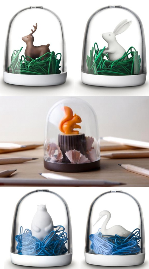 abodee desk supplies Little Animals For Your Desk
